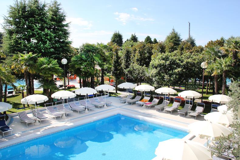 термальный бассейн в Hotel Metropole