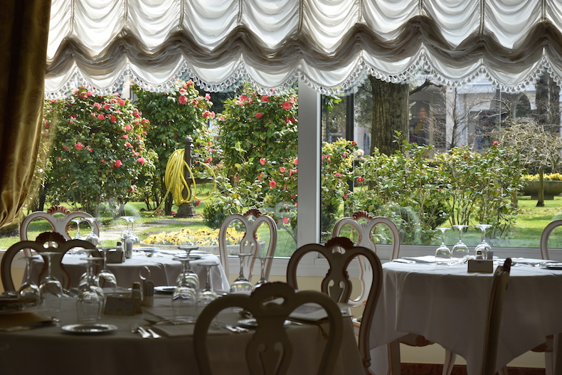 ресторане отеля Due Torre в Абано Терме