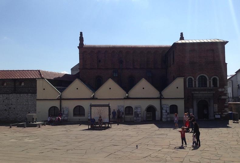 старейшая синагога в Кракове
