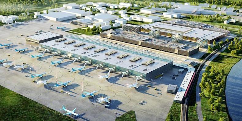 план реконструкции аэропорта Жуковский