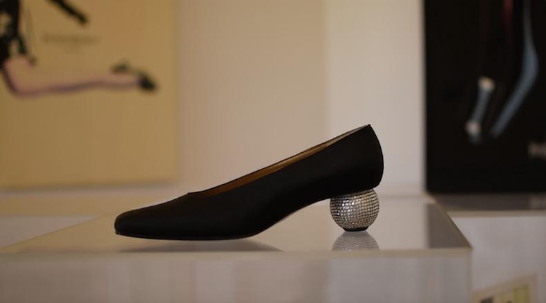туфли YSL, созданные для Марлен Дитрих Роже Вивье