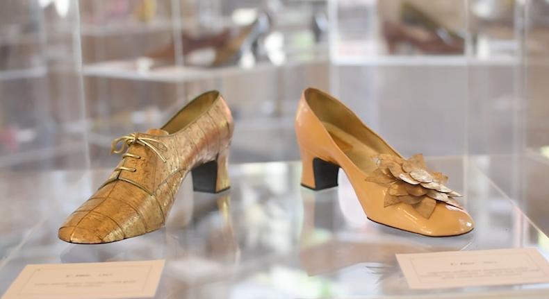 ботильоны из коллекций Christian Dior 60-х в музее обуви