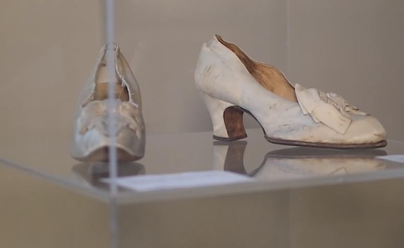 старинные венецианские туфли, музей обуви