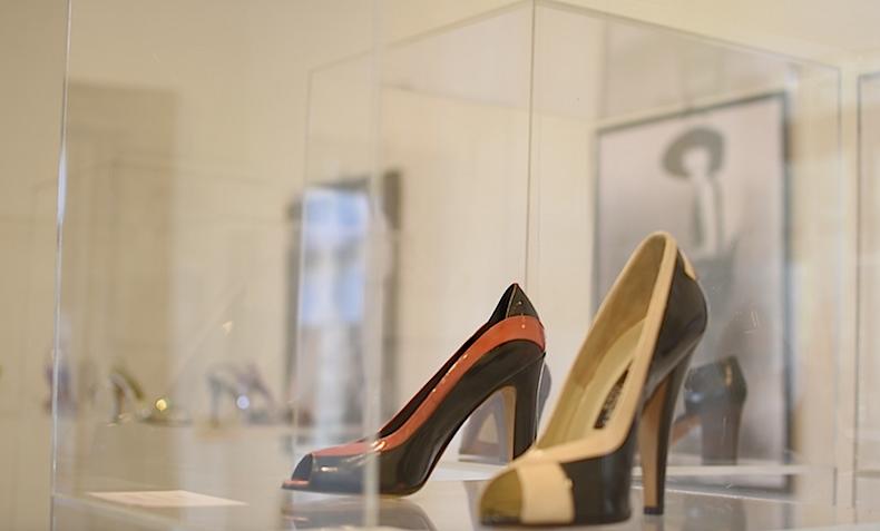 зал Givenchy в музее обуви