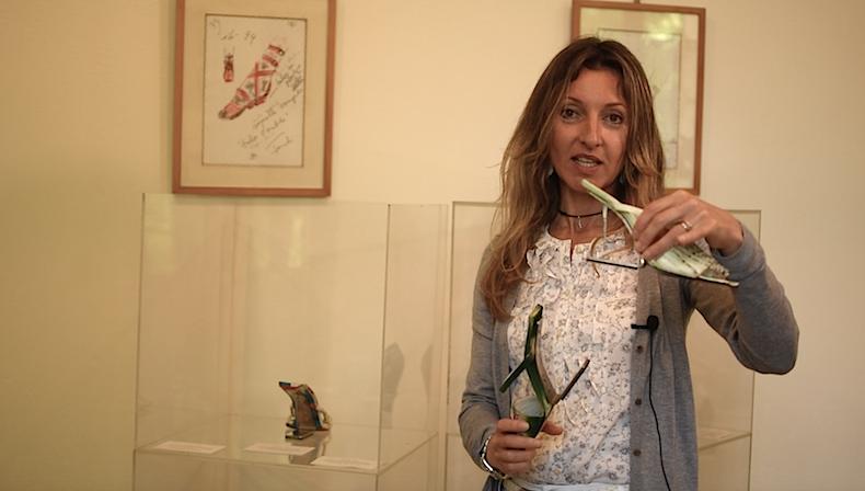Кристина Росси с любимыми босоножками Fendi