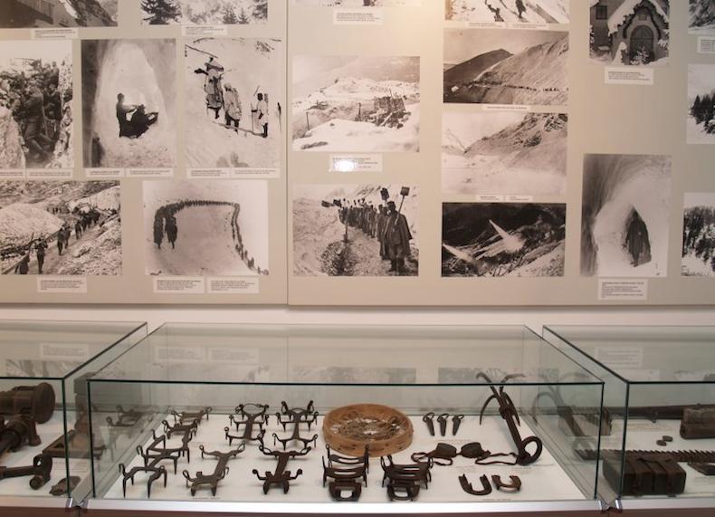 музей битвы при Капоретто в Кобариде
