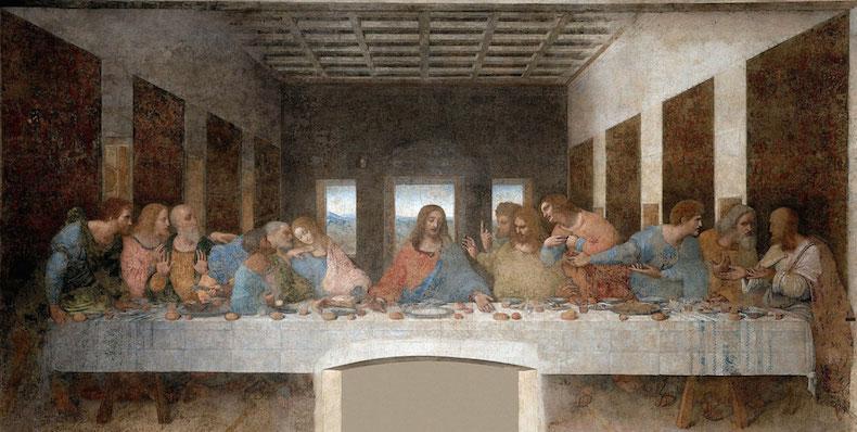 тайная вечерня Леонардо да Винчи
