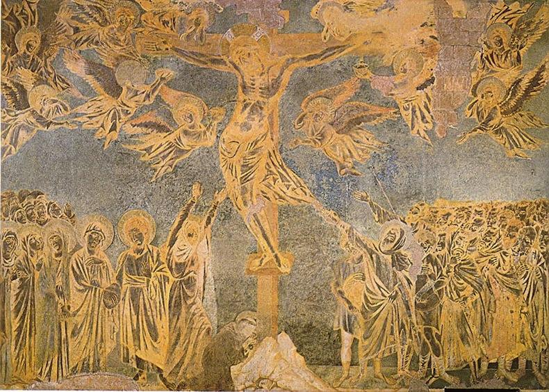 Найти фото Cimabue Crocifissione Basilica Superiore di Assisi