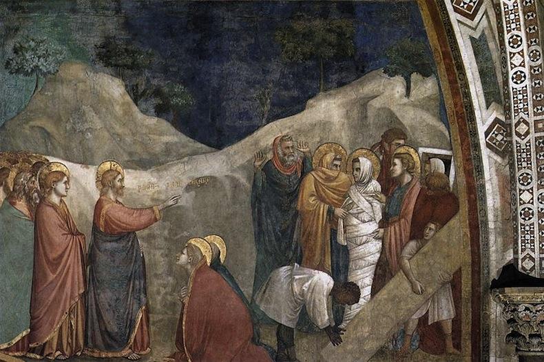 Джотто, Воскресение Лазаря