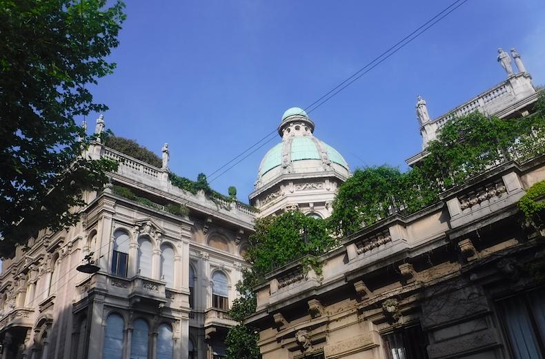 весенний Милан