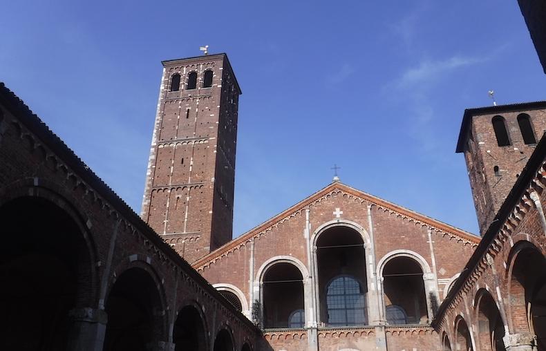 базилика Святого Амвросия (Basilica Sant'Ambrogio)