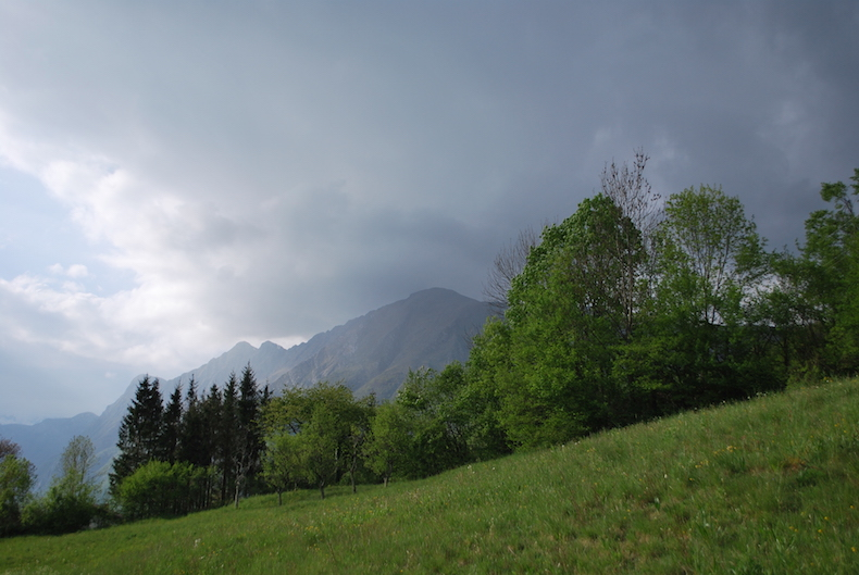 гора Монте-Неро. Кобарид, Словения