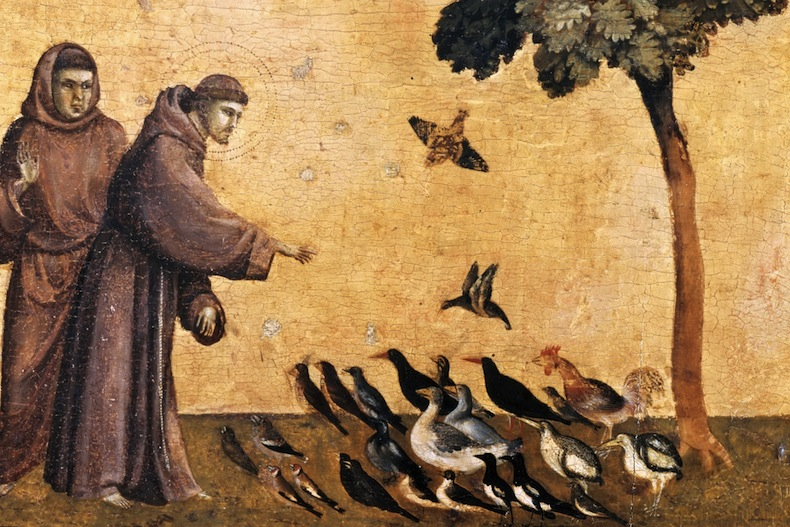 Святой Франциск Ассизский и птицы