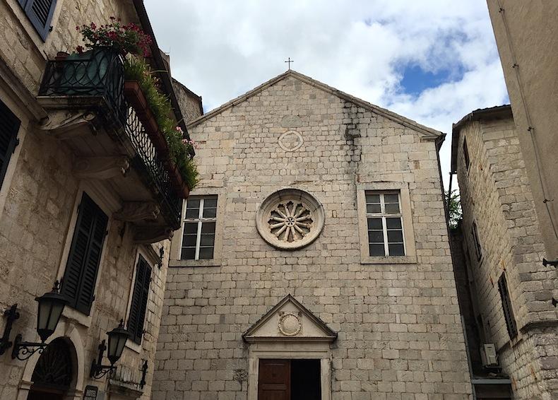 церковь блаженной Оссаны в Которе