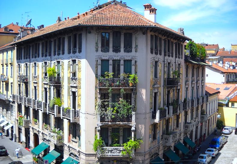 дом Галимберти (casa Galimberti,