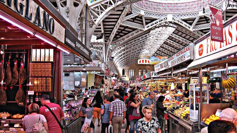Центральный рынок Валенсии