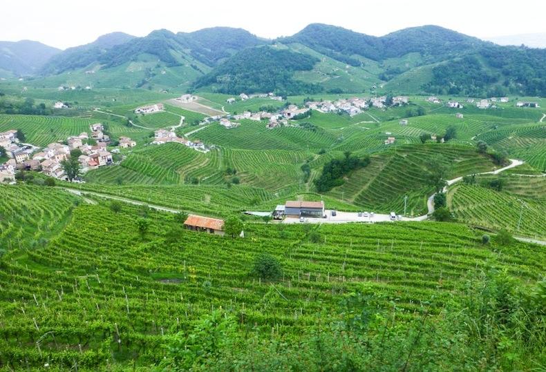 холмы просекко, Италия