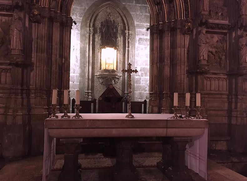 капелла Священного Грааля, Валенсия