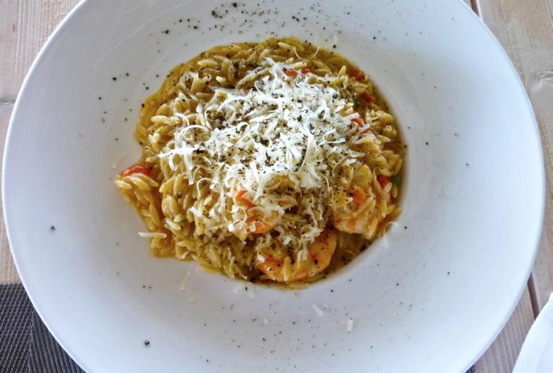 giouvetsi - паста, выглядящая, как рис