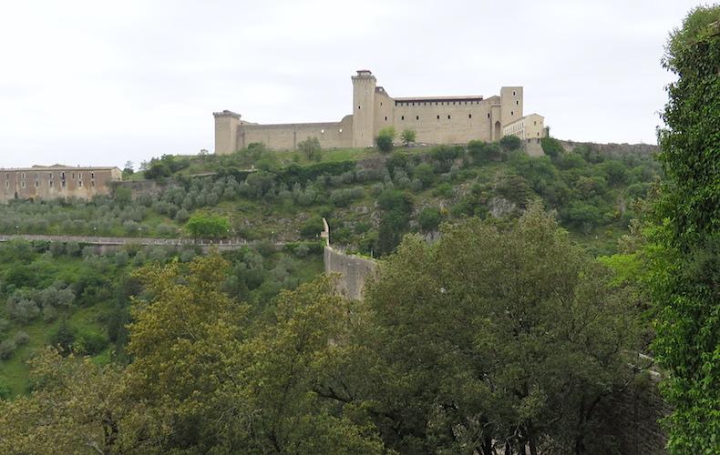 крепость Rocca Аlbornoziana Сполето