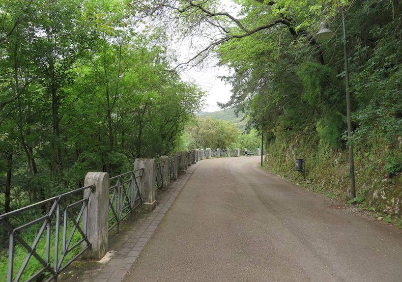 Тенистая дорога, ведущая к Башенному мосту