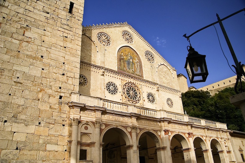 Сполетский собор (Duomo di Spoleto/Cattedrale di Santa Maria Assunta)