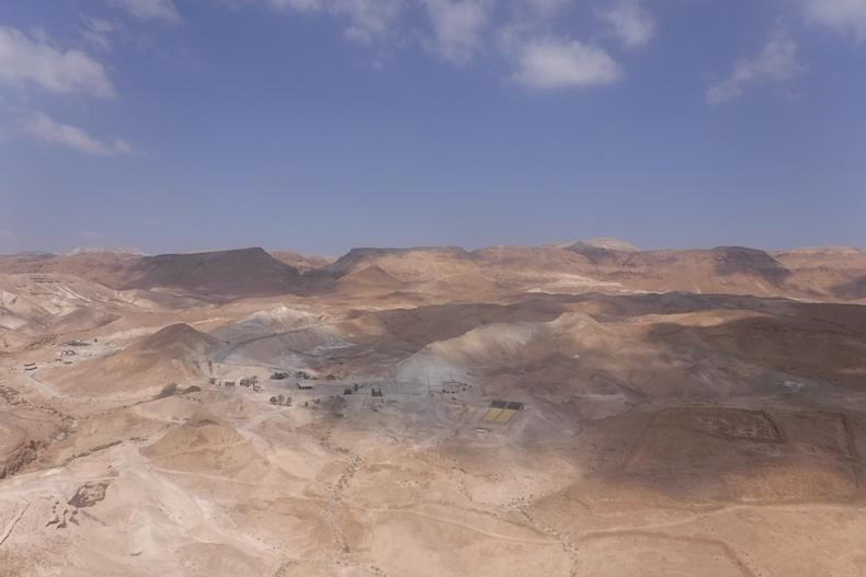 Иудейская пустыня, близ Масады