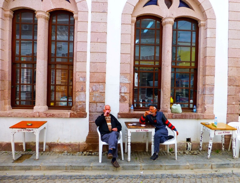 Старинная кофейня Taş Kahve