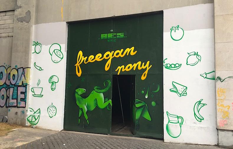 Freegan pony ресторан Париж
