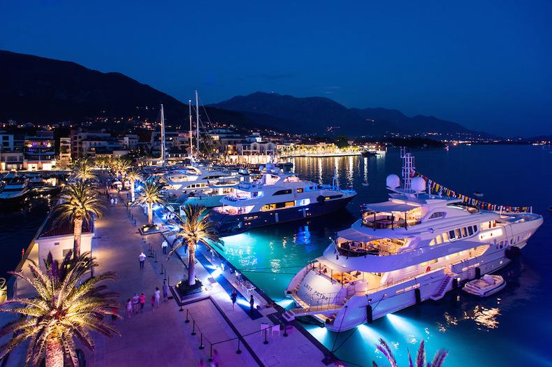 яхты в Porto Montenegro