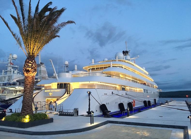 яхта Golden Odyssey