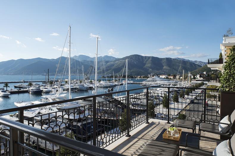 дизайн отеля Regent Porto Montenegro