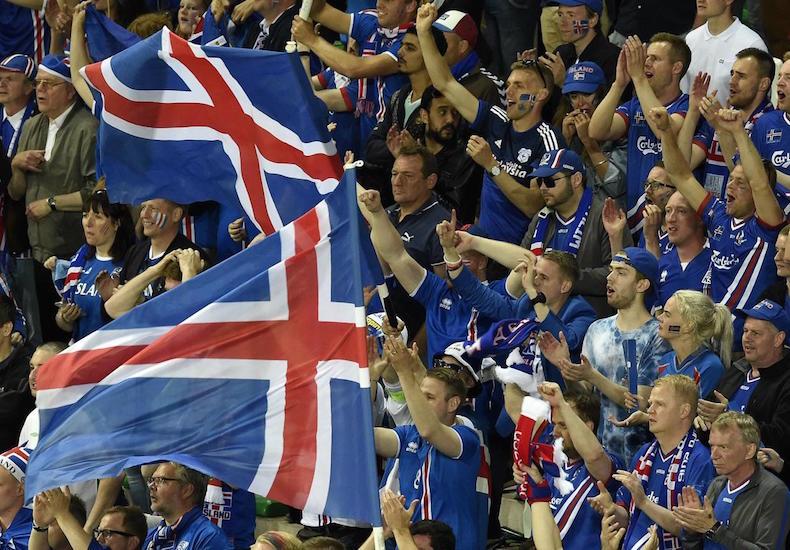 фанаты сборной исландии