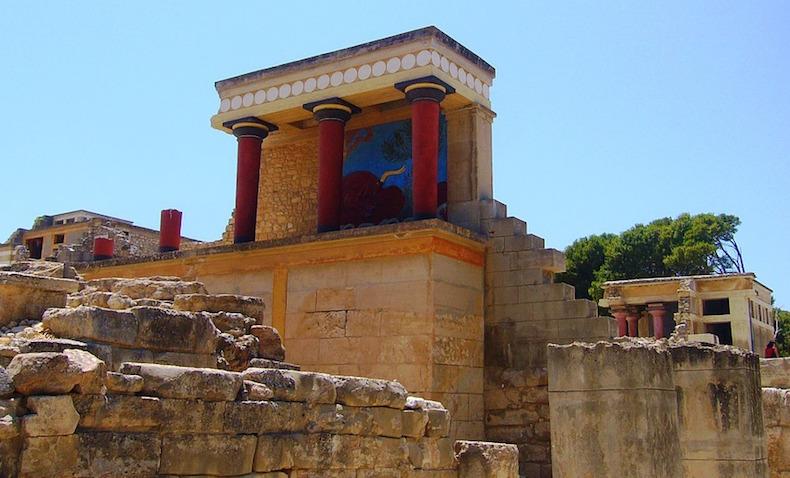 Кносский дворец Крит