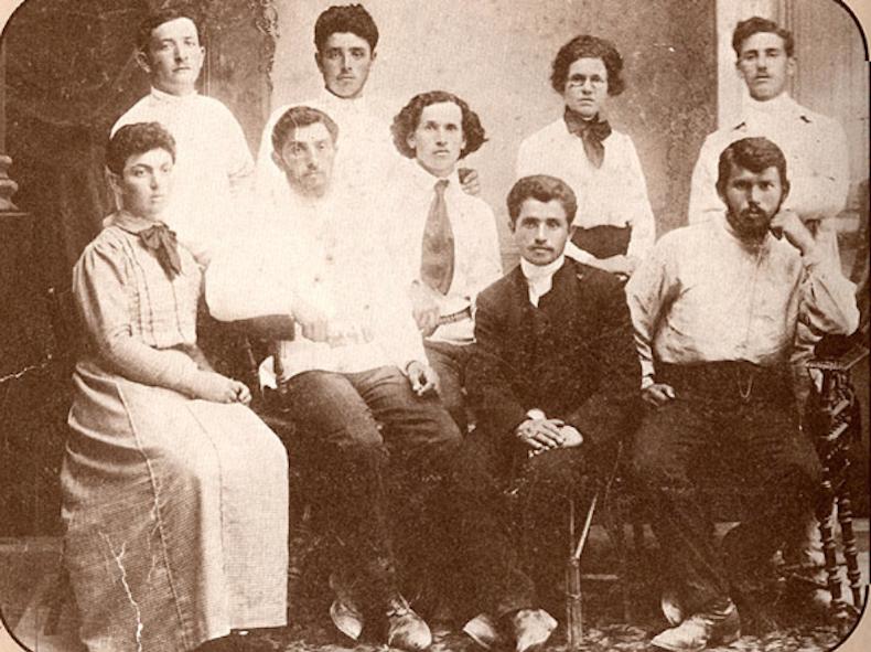 основатели кибуца Degania