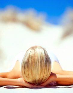 Beach-Sunbathing