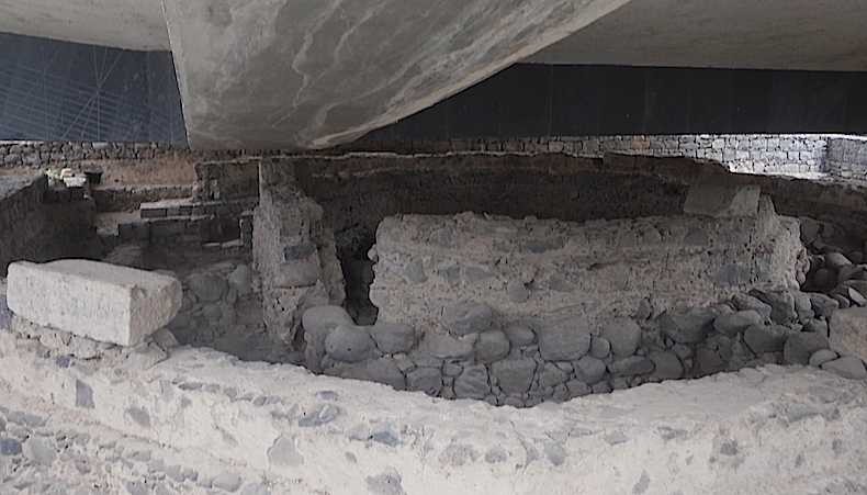 Капернаум руины византийской церкви