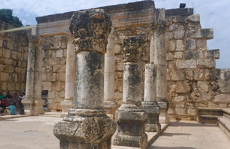 Капернаум Белая Синагога