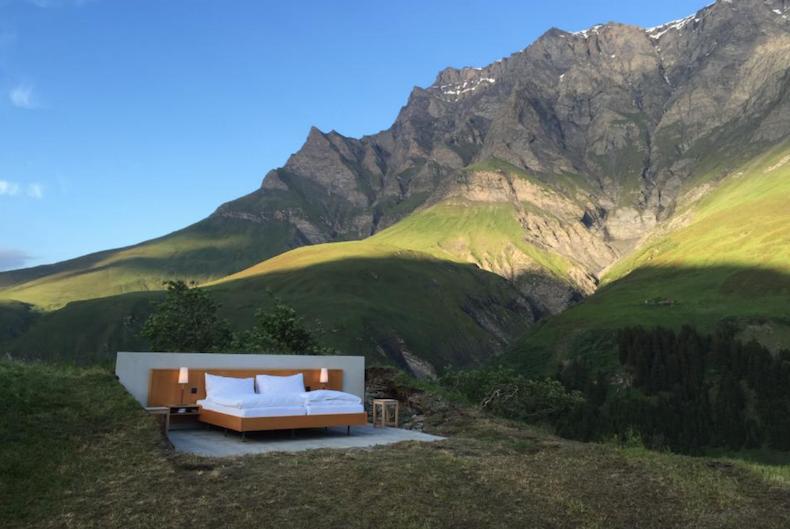 отель без звезд в горах Швейцарии