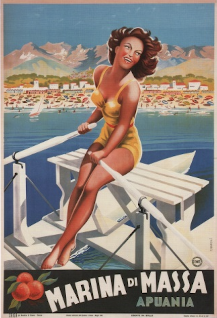 плакат масса ди марина, 1949 год