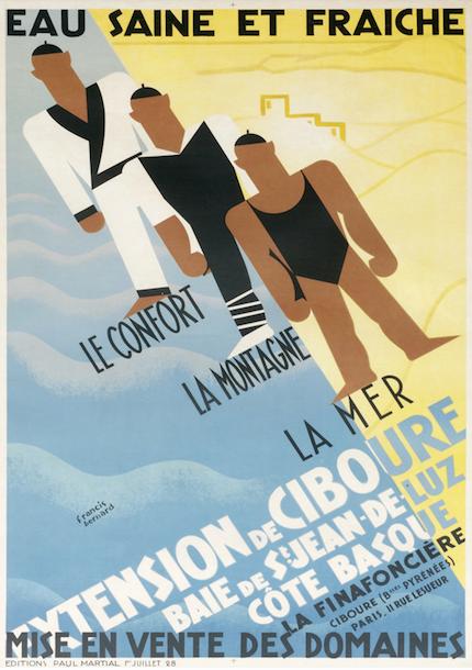 плакат винтаж франция