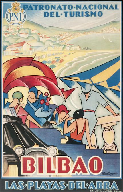 рекламный плакат страна басков