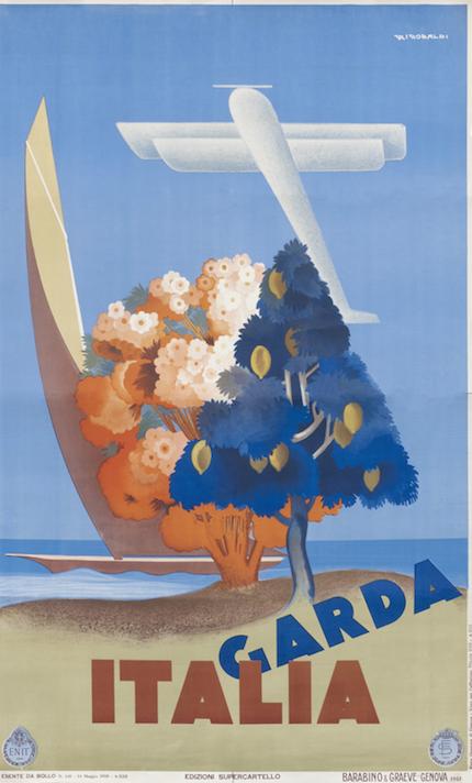 постер, отдых, озеро гарда