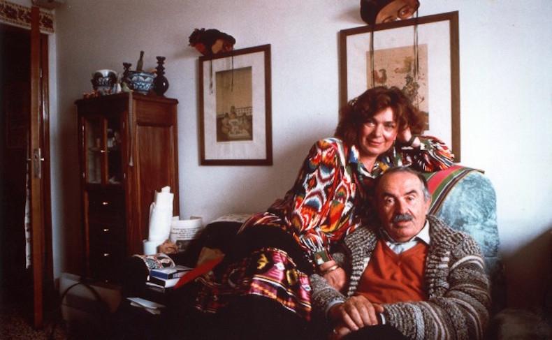 Лора и Тонино Гуэрра