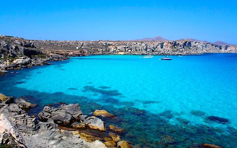 Бухта Кала Росса Сицилия