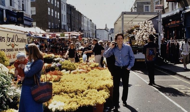 """кадр из фильма """"Ноттинг Хилл"""""""