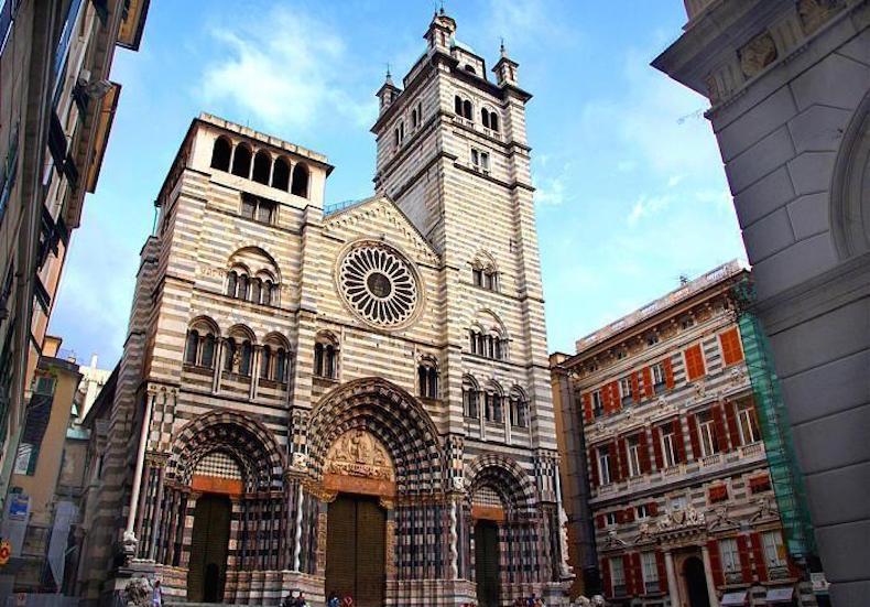 кафедральный собор Святого Лоренцо в Генуе