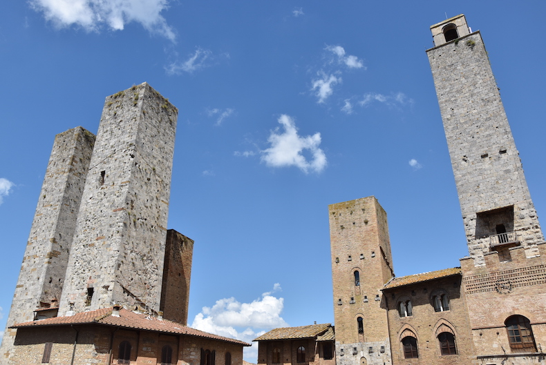 башни Сан-Джимильяно, Италия