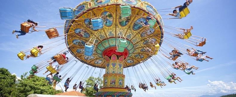 Парк развлечений в Vinpearl