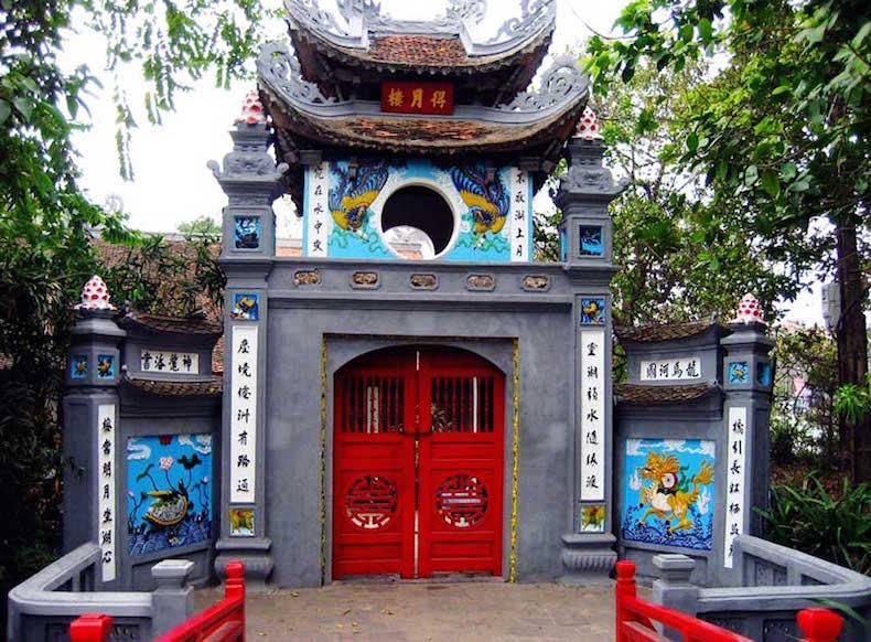 Храм Нефритовой горы (Ngoc Son) в Ханое